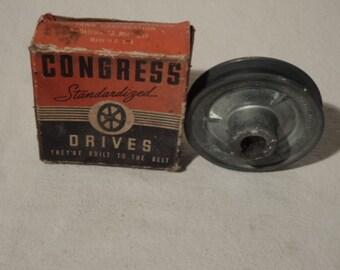 Vintage V Grooved Pulley Congress