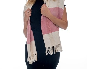 Cotton Scarf Pink