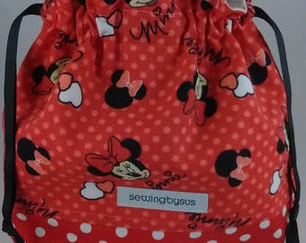 Minnie Mouse project bag