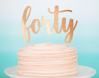 40 and fabulous Etsy