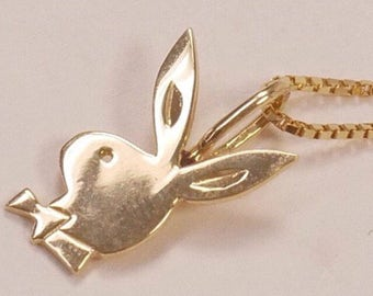 Supreme playboy bunny chain necklace