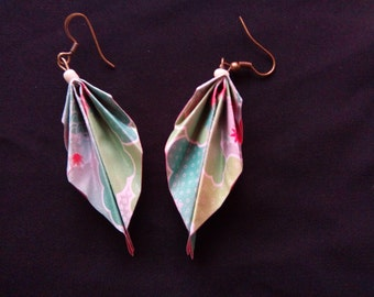 origami #3 earrings