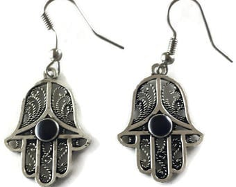 Small Hand of Fatima earrings