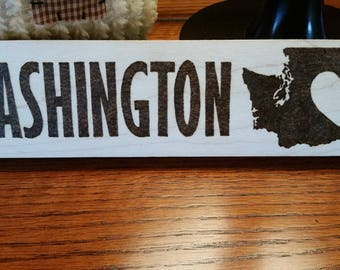 Washington Heart Mantel Piece
