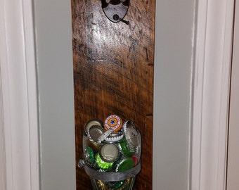 Soda glass bottle opener