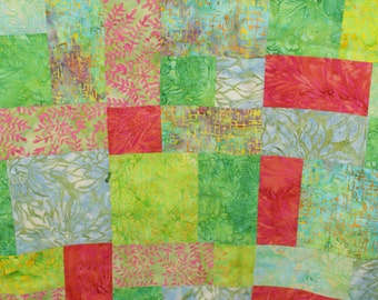 Watercoloring Baby Quilt