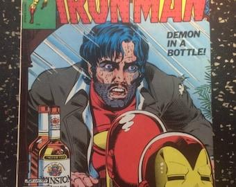 Iron Man # 128 Comic by Marvel
