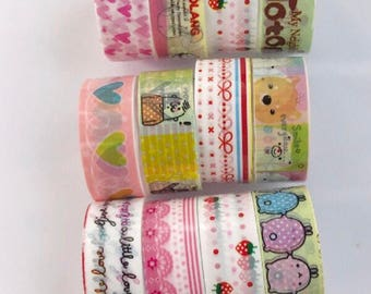 Lucky dip washi tape set