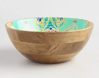 Priti Mango Wood Salad Bowl