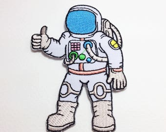 Astronaut patch Spaceman iron on patch