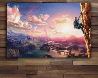 Legend of Zelda: Breath of the Wild Poster - Canvas