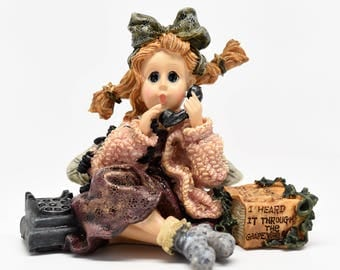 """Boyds Bears & Friends The Wee Folkstone Collection ~ Gabrielle """"GABBY"""" Faeriejabber...The Phone Faerie ~ Boyds Bears ~ Folkstone Collection"""