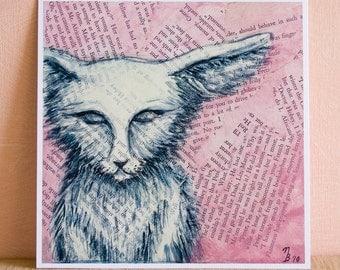 Seba in Pink - Art Print