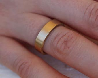 Handmade Solid 14k Gold Ring