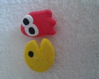 Pac - Man earrings