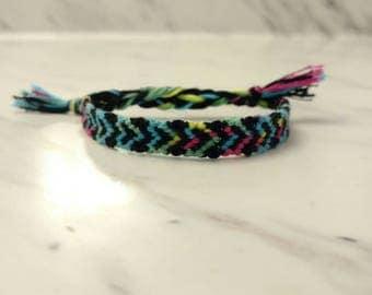 Tie dye Heart Bracelet