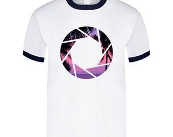 Aperture Sunset T Shirt