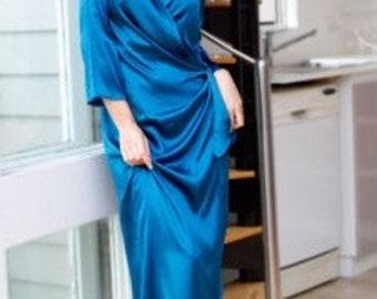 Venus Wrap Silk Robe