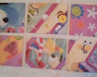 Handmade Envelopes With Repurposed Children's Book