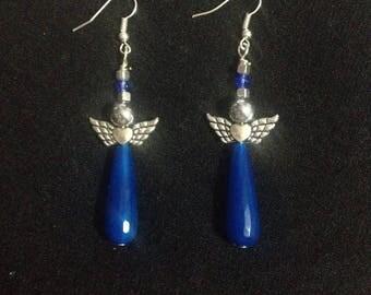 Angel shape earrings