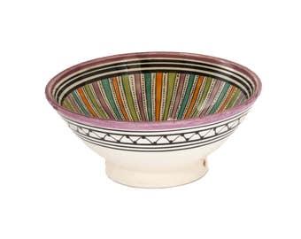 Sahara Serving Bowl, Purple Small
