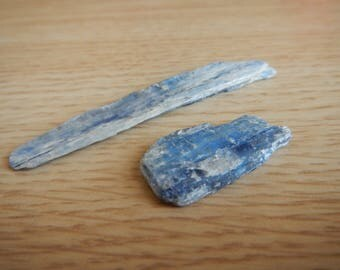 Two (2) Deep Blue Kyanite Blades (Brazil)