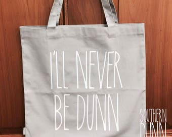 Rae Dunn Inspired Market Bag. Market Tote Bag. Grocery Tote. Reusable Bag. Rae Dunn. I'll Never Be Dunn. Rae Dunn Tote