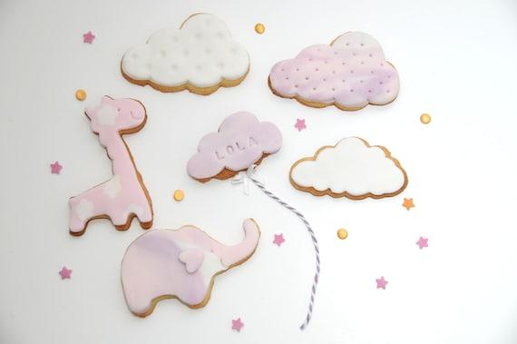 New Baby Girl Cookie Gift, Mum To Be Gift, Baby Shower Cookies, New Mum Gift, Birthday Gift