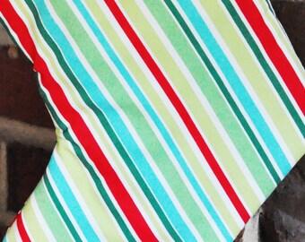 Aqua Stripes Fabric no.013