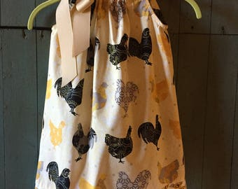 Pillow Case Dress 4/5T