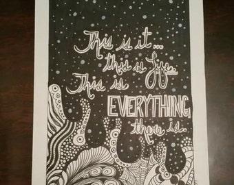 Original art - This is Life