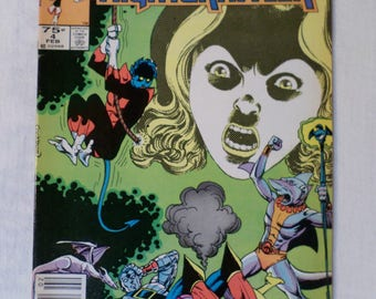 NIGHTCRAWLER  Vol 1 #4 of a 4 Issue Series February 1986 MARVEL Comics USA
