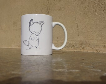 Cup Fox Kitsune