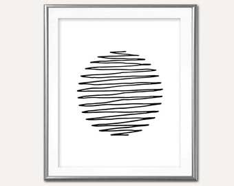 SALE-Live Wire Modern Art- Digital Print- Wall Art- Digital Designs- Home Decor- Gallery Wall-Art Prints-Office Decor-Minimalist Art