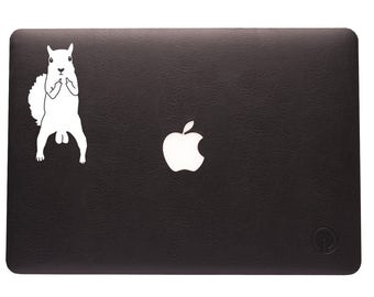 FUNNY!! (3) Squirrel Nuts Decal!! Gag gift, prank