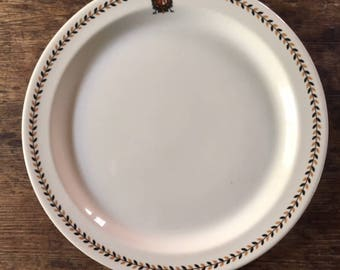 Vintage Restaurant Ware, Old Restaurant Charger, Vintage China, Restaurant Plate, Old Restaurant China, Vintage Dinnerware, Old Dinner Plate