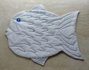 Tummy Time Rug - Fish