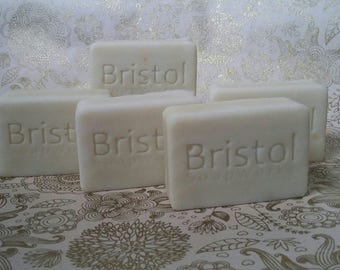 3 bars of handmade 100% natural cold process soap with no artificial scent or colour.