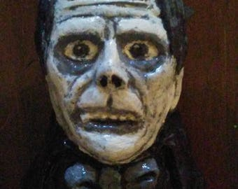 Phantom of the Opera B&W refrigerator magnet figurine sculpture art