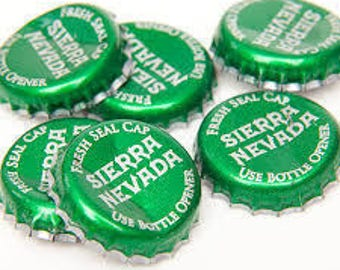 Beer Bottle Caps - Sierra Nevada Pale Ale - 50ct