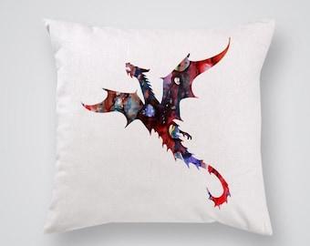 Flying Dragon Pillow Cover Throw Pillow Home Decor