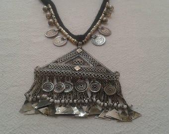 Hand Made Vintage Necklace, Bohomian necklace, antique Necklace