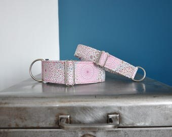 Collar adjustable martingale for dogs, Greyhound, galgo, whippet, greyhound, podenco, lurcher, saluki