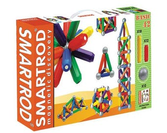 SmartRod Magnetic Discovery Set 42 pcs - Construction toys