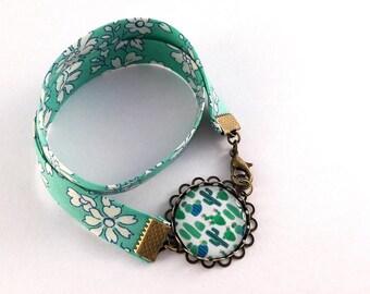 Bracelet double liberty cactus pattern