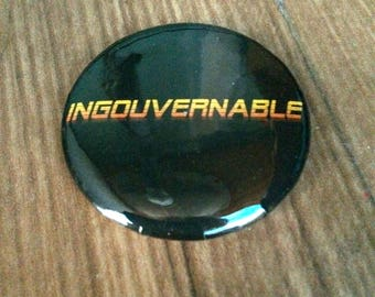 Ungovernable badge