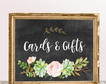 Printable Wedding Signs, Cards and Gifts in Chalk Sign, Printable Wedding Decor, Instant Download, Digital Printable File