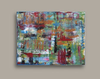 Abstract Acrylic - Original Painting - Contemporary Art