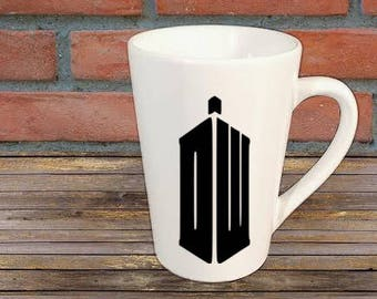 Dr. Who Tardis Horror Mug Coffee Cup Gift Halloween Home Decor Kitchen Bar Gift for Her Him