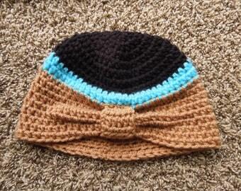 Crochet Pocahontas Turban